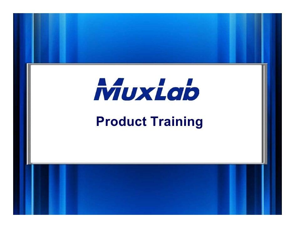 Product Training