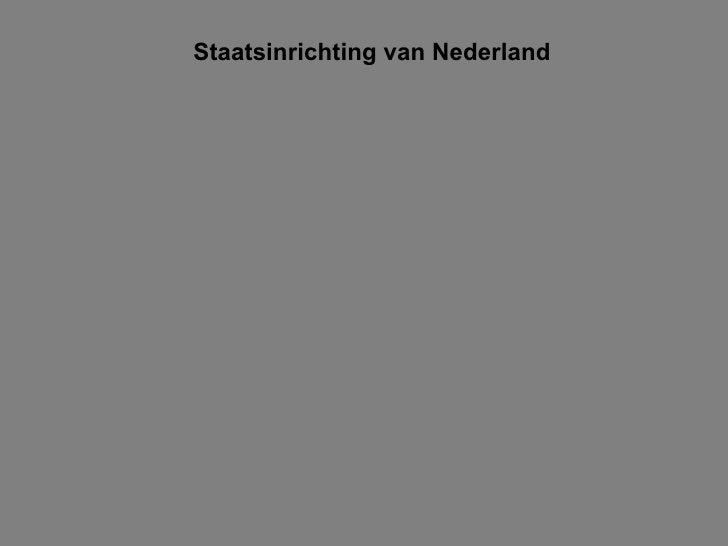 Veranderingen Bestuur Nederland