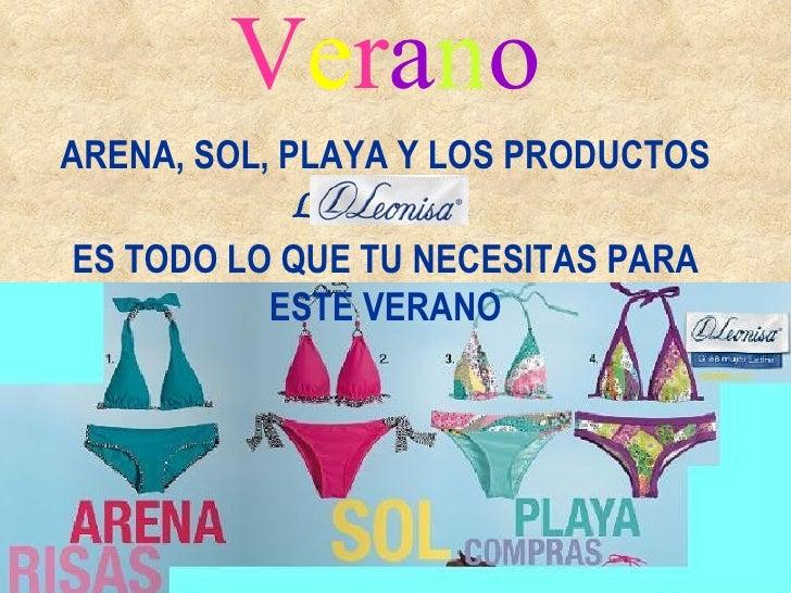 Verano2010 con productos Leonisa