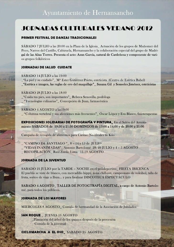 Verano 2012 Hernansancho