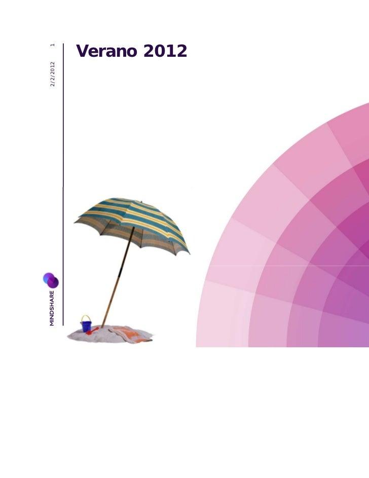 Verano informe final 2012
