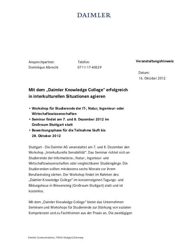 Ansprechpartner:                         Telefon:                      VeranstaltungshinweisDominique Albrecht            ...