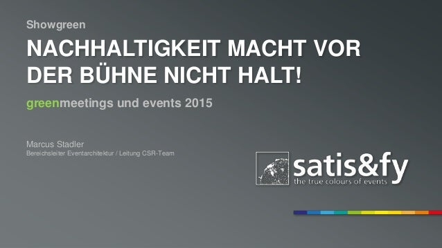 satis-fy.com facebook.com/satisandfy Musterprojekt, Musterkundenname Musterstadt, den 1.2.3456 | Präsentiert durch Max Mus...