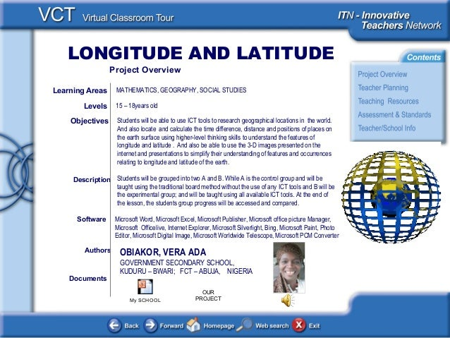 LONGITUDE AND LATITUDE <This picture should illustrate the subject of your Classroom Learning Resource> Documents Authors ...
