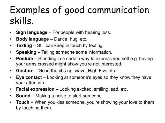 Essay on the importance of good communication skills for employability
