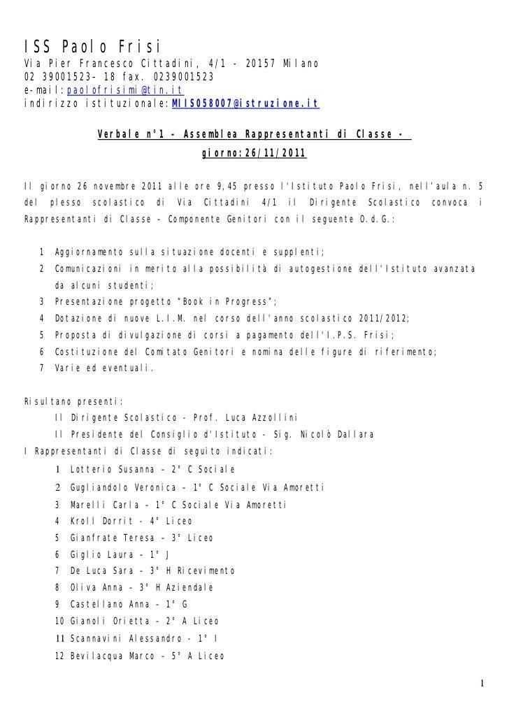ISS Paolo FrisiVia Pier Francesco Cittadini, 4/1 - 20157 Milano02 39001523– 18 fax. 0239001523e-mail:paolofrisimi@tin.itin...