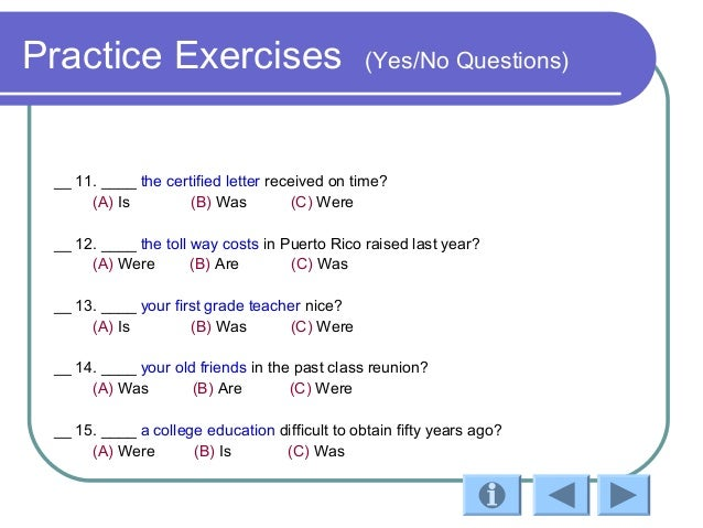 math worksheet : verb be past tense : Exercises With Verb To Be Wh ...
