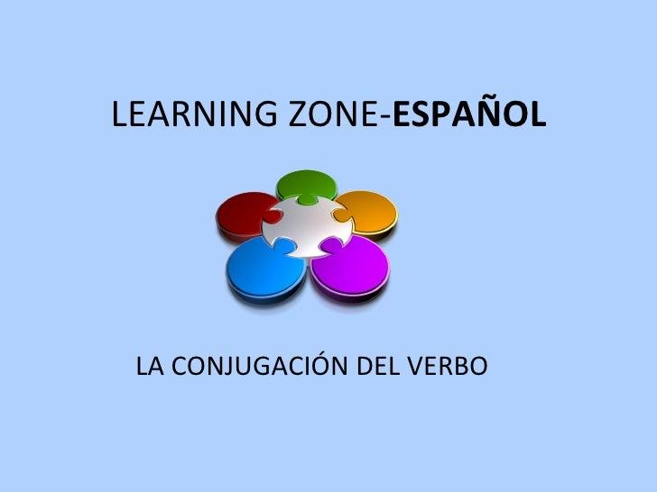 LEARNING ZONE- ESPAÑOL LA CONJUGACIÓN DEL VERBO