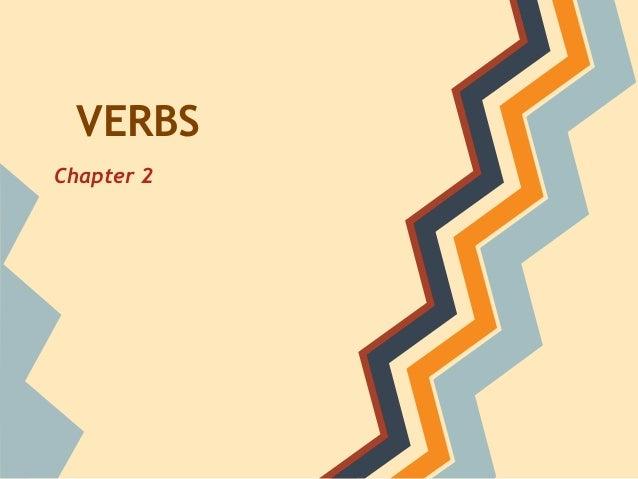 Verbs chapter2