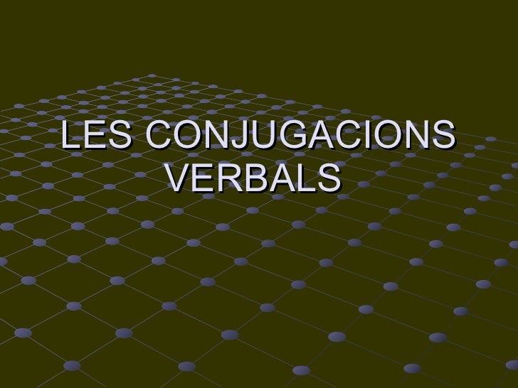Els verbs