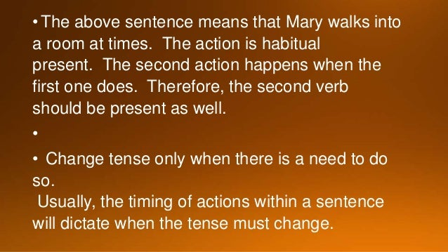 Why is it important to keep verb tense consistent in an essay