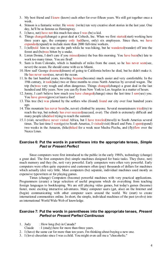 How to keep my essay in present tense?