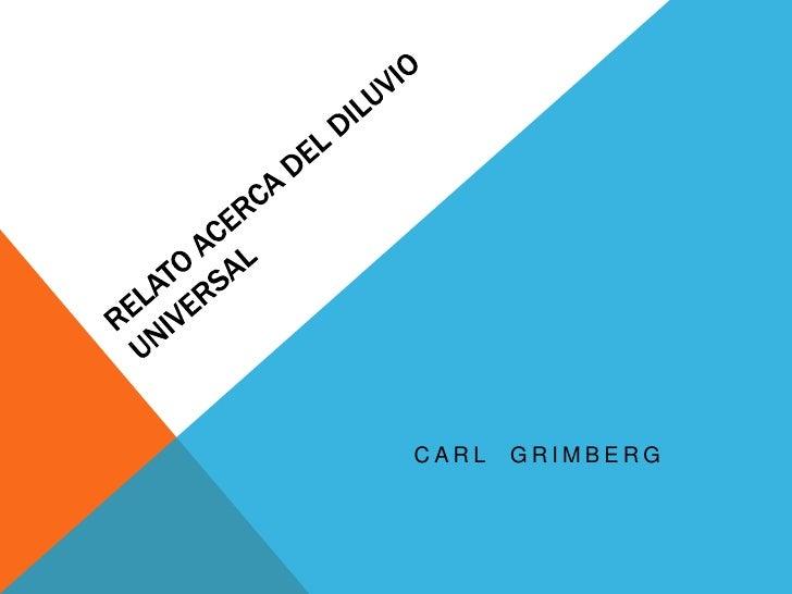 CARL   GRIMBERG