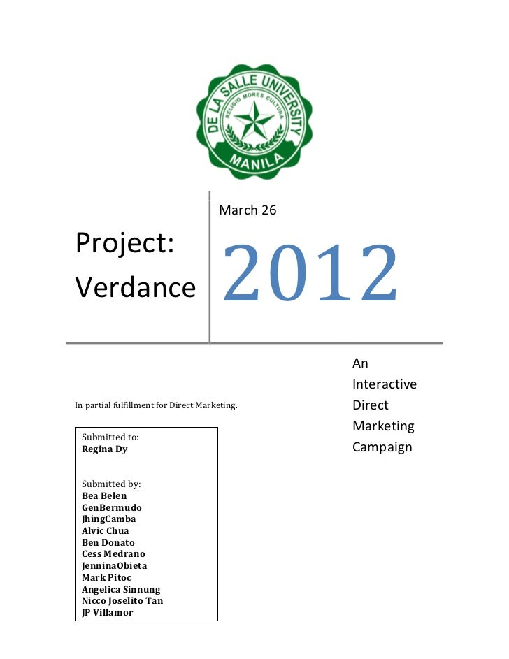 Project: Verdance