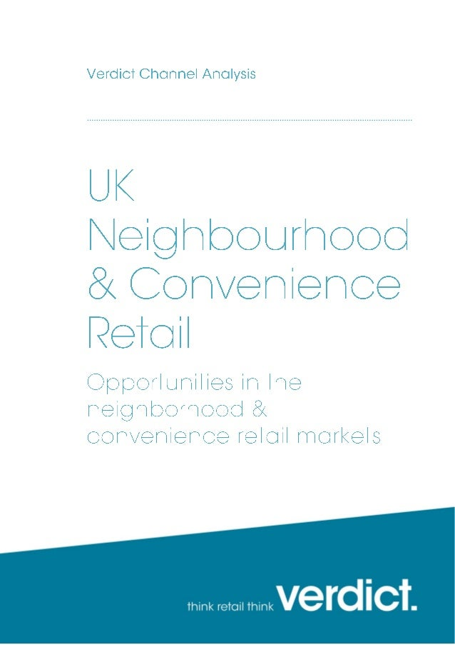 UK Neighbourhood & Convenience Retail sample pages