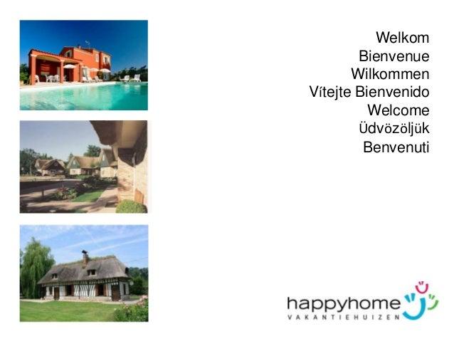 Verhuren via happy home