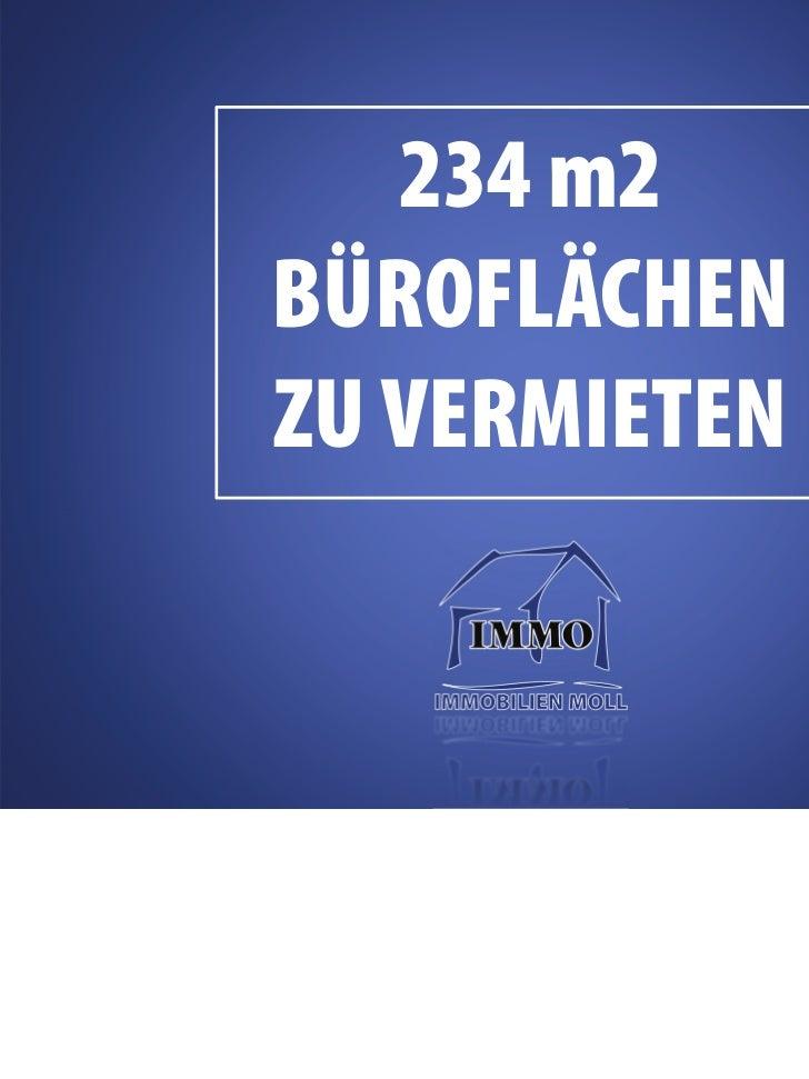 234 m2 BÜROFLÄCHEN ZU VERMIETEN