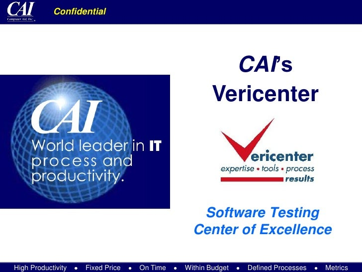 Vericenter Summary