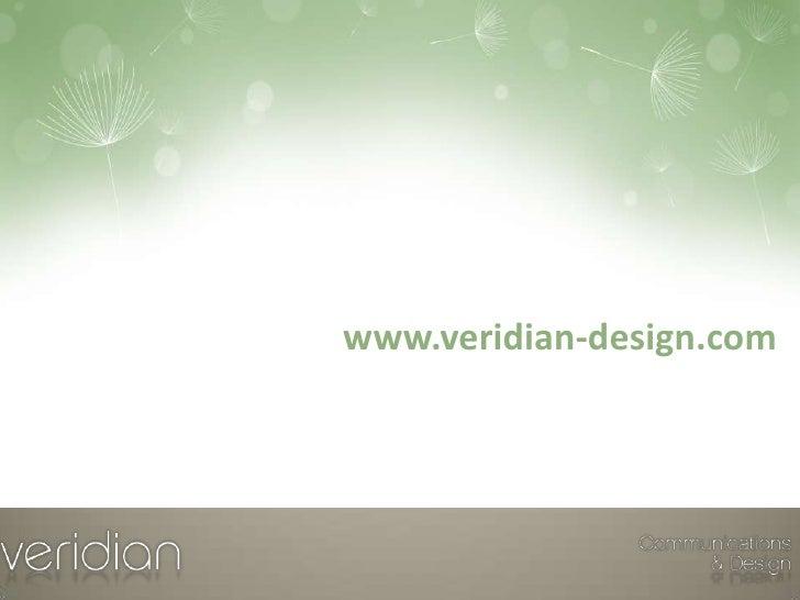 www.veridian-design.com<br />