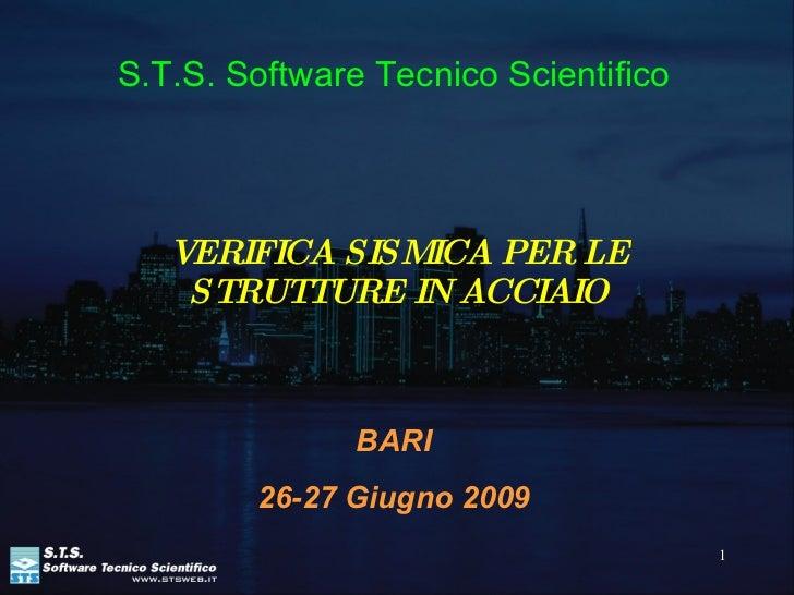 Verifica Di Strutture In Acciaio. Nuove Norme Tecniche 2008