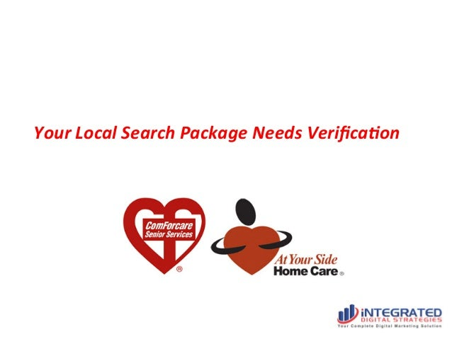Your  Local  Search  Package  Needs  Verifica6on