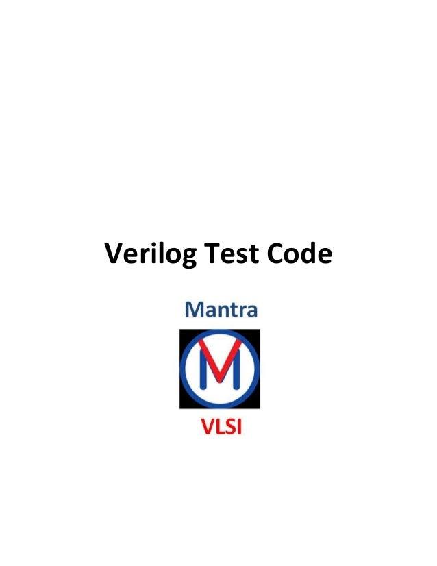 verilog code