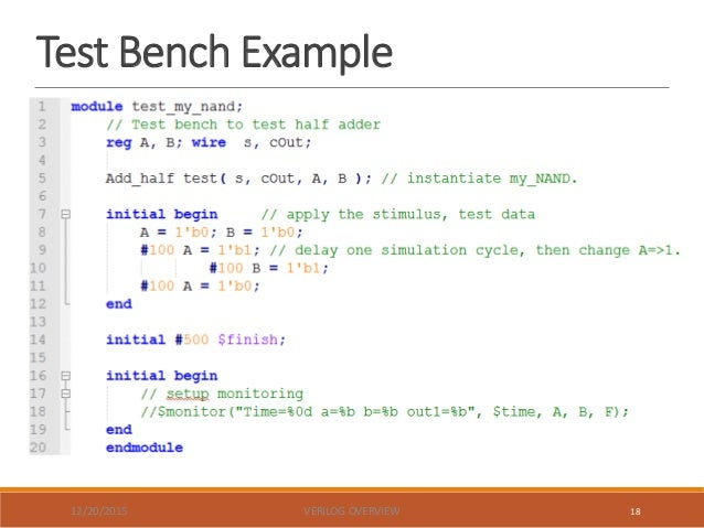 system verilog test bench - 28 images - verissimo systemverilog testbench linter, vhdl and ...