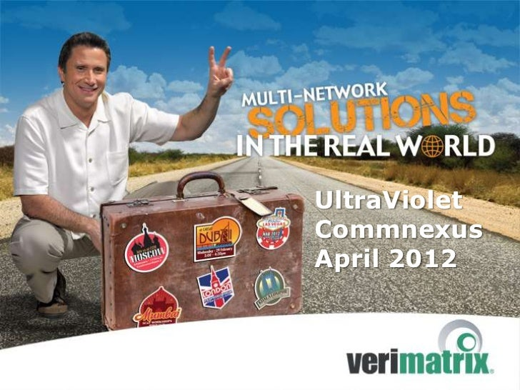 UltraVioletCommnexusApril 2012