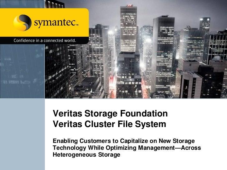 Veritas Storage Foundation