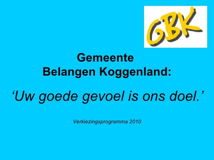Verkiezingsprogramma GBK v4