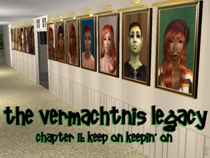 Welcome back to the Vermachtnis Legacy, a legacyundergoing an alien revolution. Last chapter, the fiveVermachtnis kids ent...