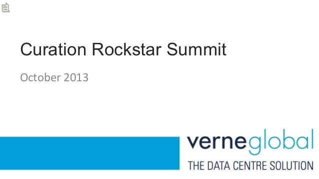 Content Curation Success - Verne Global Case Study - Curata Curation Rockstar Summit