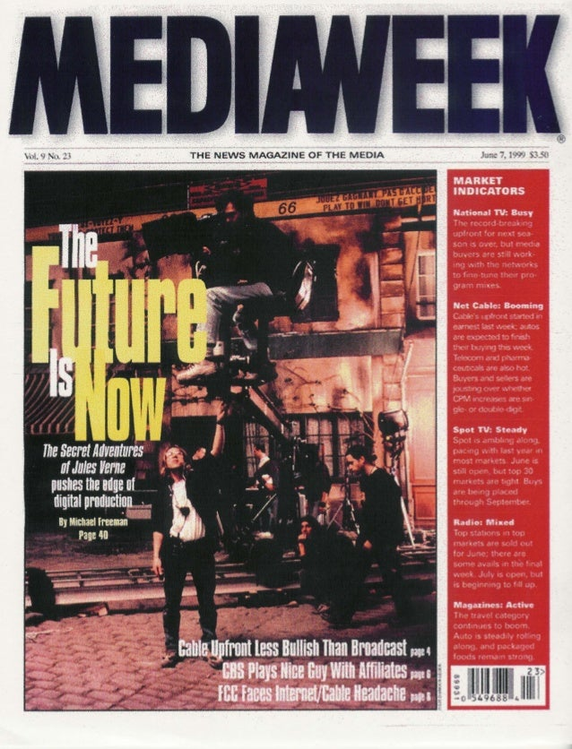"""""""The Future is Now: World's First All-High-Definition TV (HDTV) Production - 1999"""""""