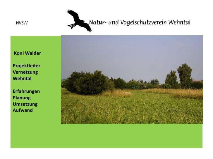 Vernetzungsprojekt Wehntal