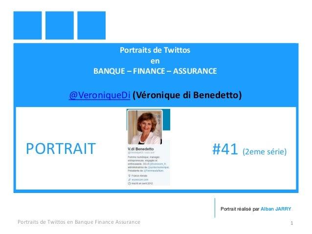 Portraits de Twittos en BANQUE – FINANCE – ASSURANCE @VeroniqueDi (Véronique di Benedetto) Portraits de Twittos en Banque ...