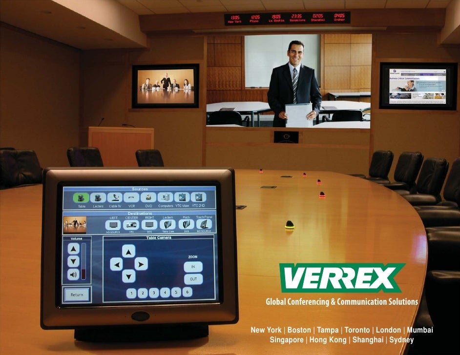 Verrex E Portfolio 2011
