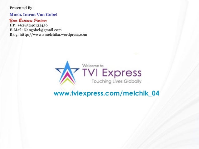 TVI EXPRESS KNOWLEDGE