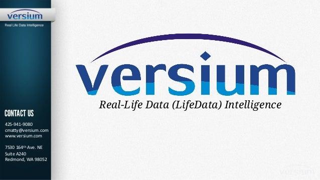Versium Real-Life Data Intelligence Platform