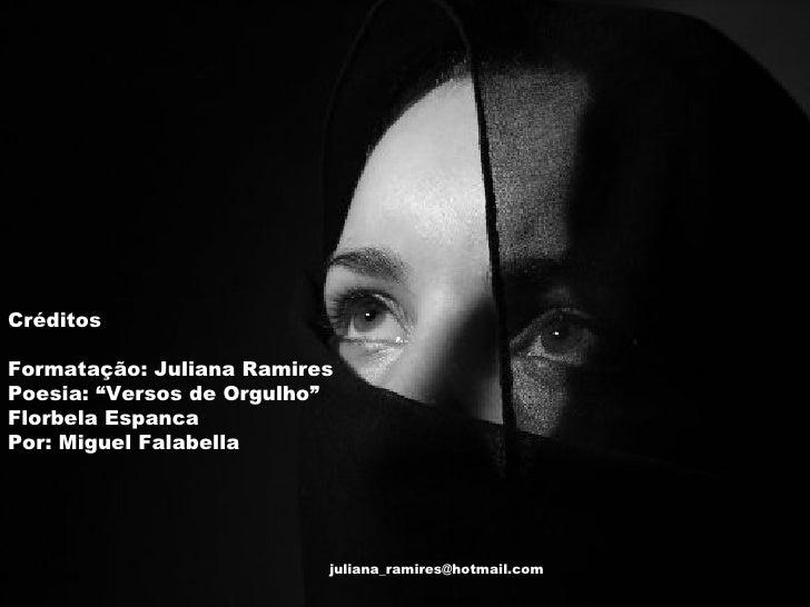 Florbela Espanca versos de orgulho