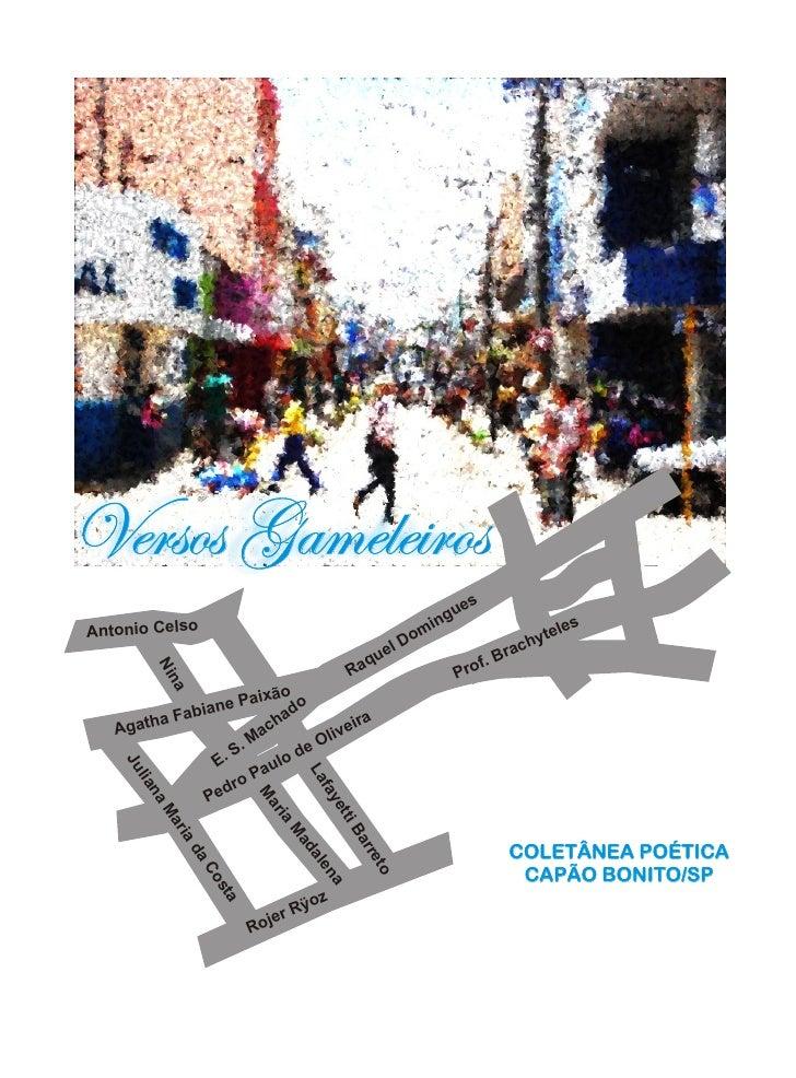 Versos Gameleiros                                                                      s                                  ...