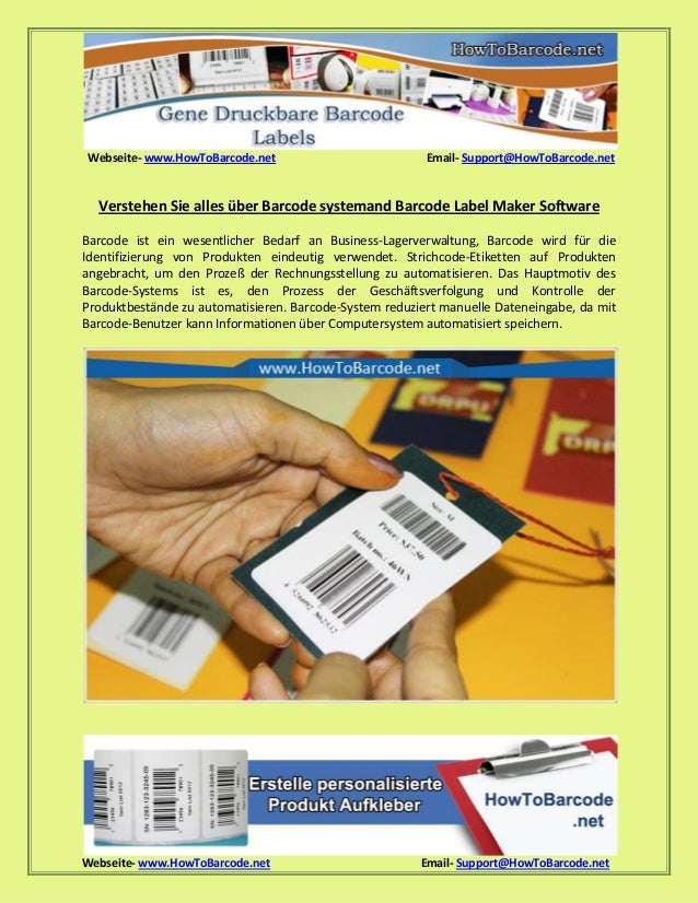 Webseite- www.HowToBarcode.net Email- Support@HowToBarcode.net Webseite- www.HowToBarcode.net Email- Support@HowToBarcode....