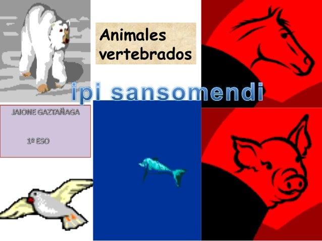 1 Animales vertebrados
