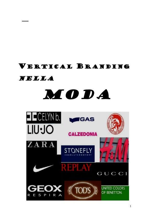 Vertical branding nella moda