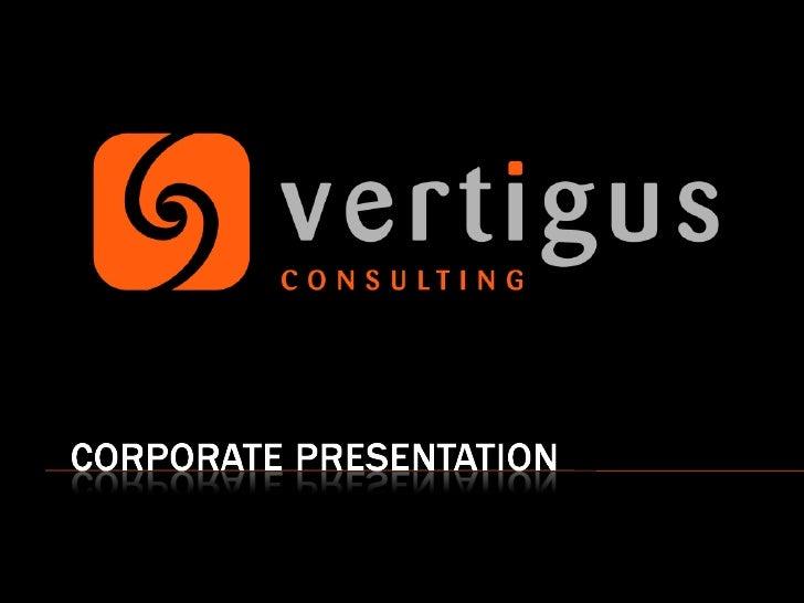 Vertigus Corporate Presentation 2008