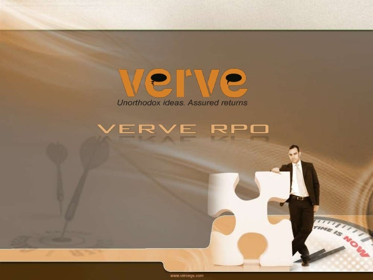 Your One Stop Integrated Outsourcing Partner!    Verve Communications Pvt. Ltd. is a global service provider driven by the...