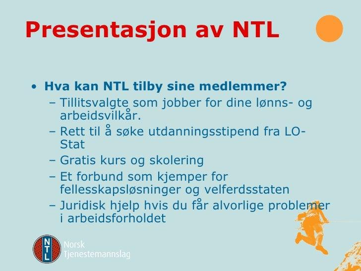 NTL informasjon