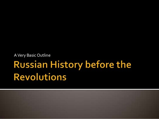 Very basic russian history