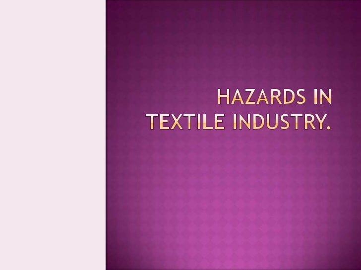 Very impotant (textile industry)