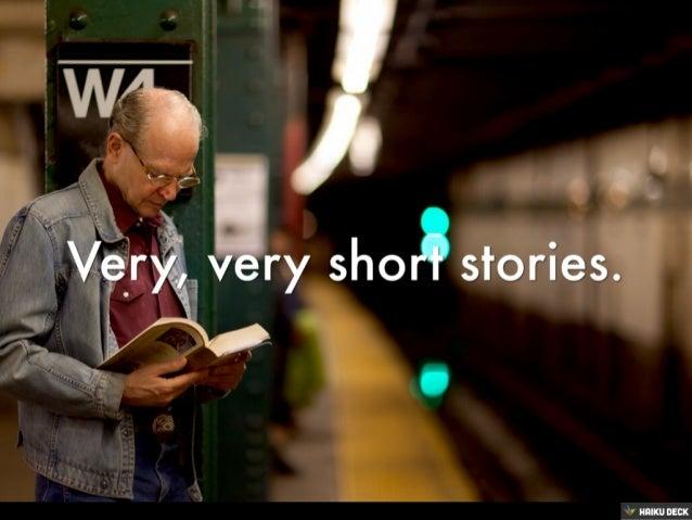 Very, Very Short Stories