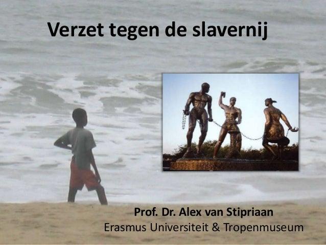 Verzet tegen slavernij
